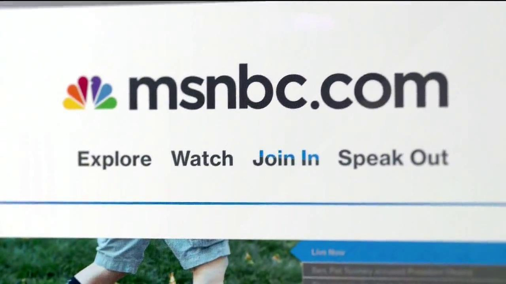 MSNBC.com TV Spot, 'First Step Forward' - Screenshot 10