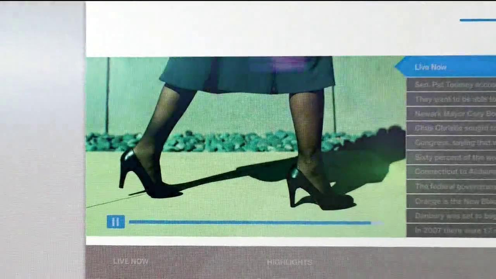 MSNBC.com TV Spot, 'First Step Forward' - Screenshot 9