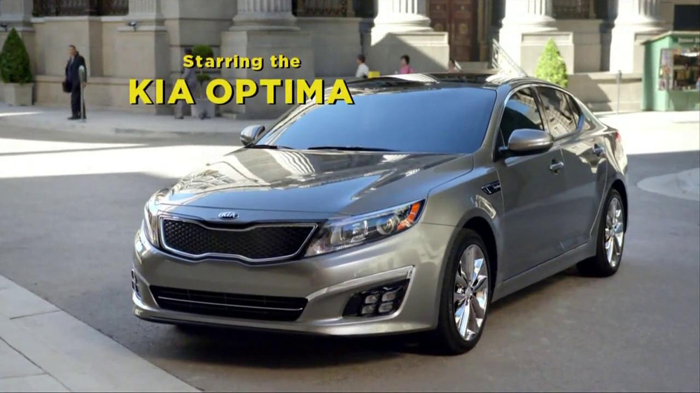 Kia Optima TV Spot, 'Griffin Force' Featuring Blake Griffin, Jack McBrayer - Screenshot 7