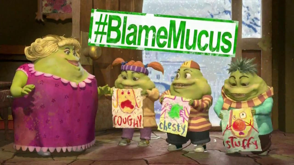 Mucinex TV Spot , 'Bringing Home Mucus' thumbnail