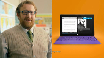 Microsoft Surface 2 TV Spot, 'Teacher'