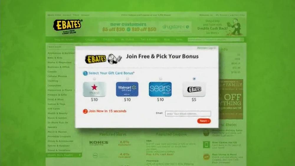 Ebates TV Spot, 'Ebates Family' - Screenshot 4