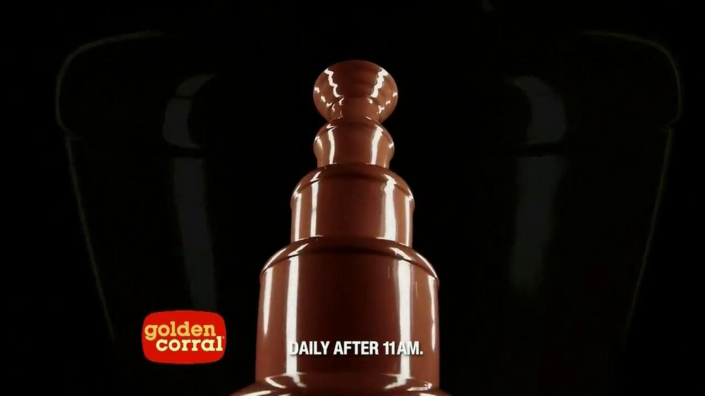 Golden Corral Triple Fountain Yum TV Spot - Screenshot 4