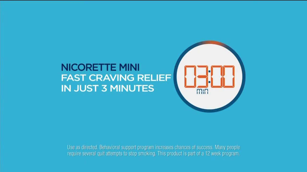 Nicorette Mini TV Spot, 'At the Bar' - Screenshot 9