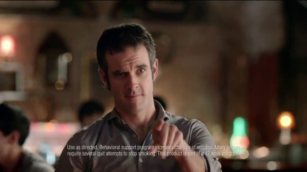 Nicorette Mini TV Spot, 'At the Bar' - Screenshot 7