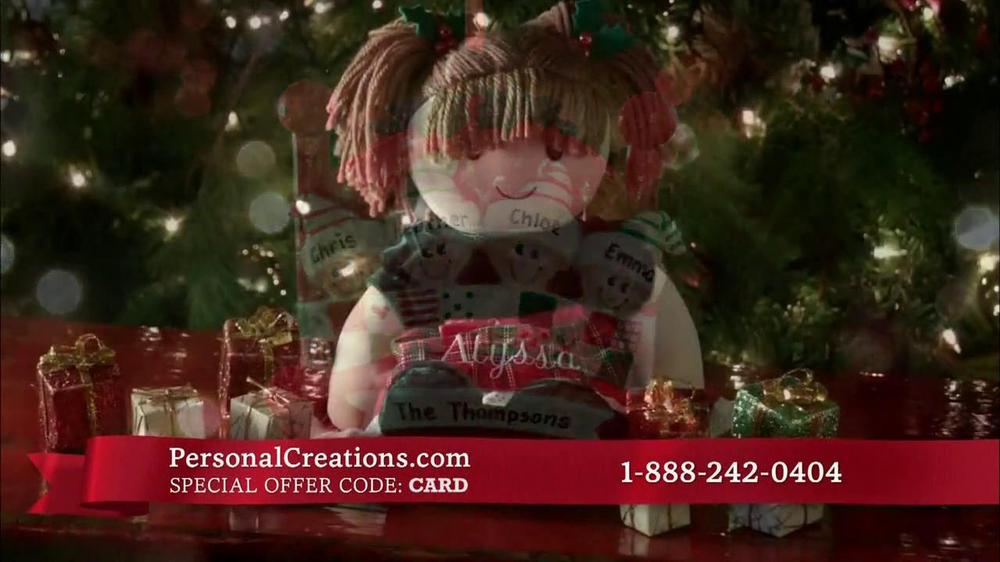 Personal Creations TV Spot, 'One-of-a-Kind Gifts' - Screenshot 7