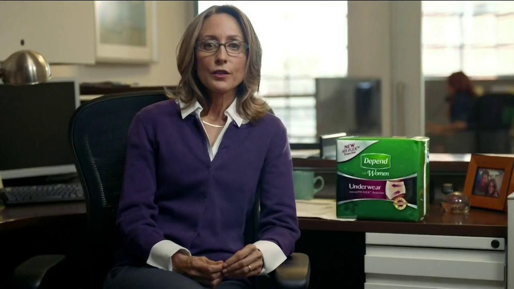 Depend for Women New Fit-Flex TV Spot - Screenshot 1