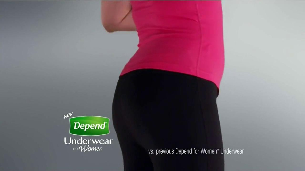 Depend for Women New Fit-Flex TV Spot - Screenshot 10
