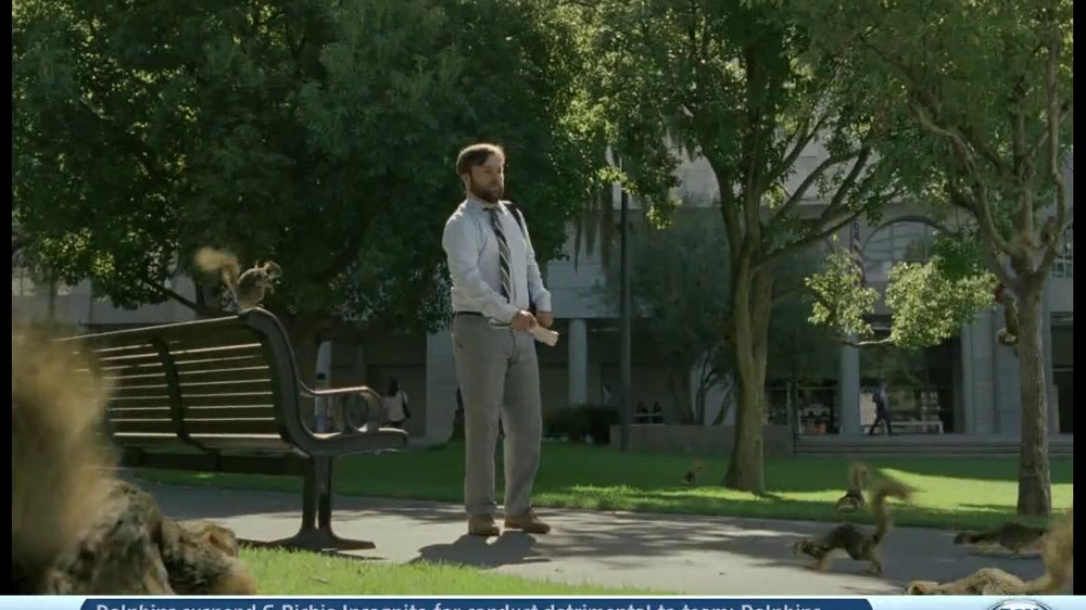 DirecTV TV Spot, 'Attack of the Squirrels' - Screenshot 1