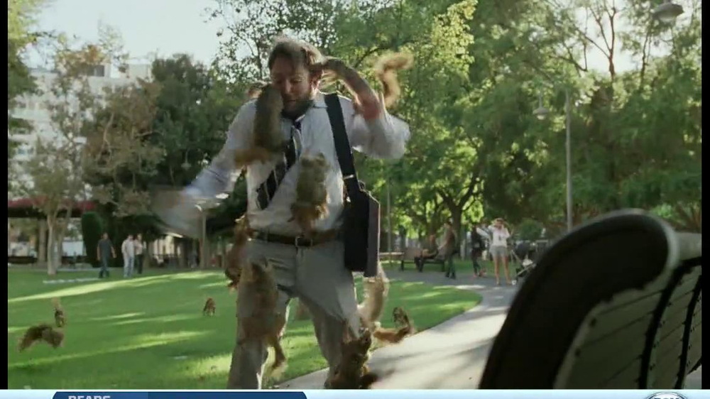 DirecTV TV Spot, 'Attack of the Squirrels' - Screenshot 10