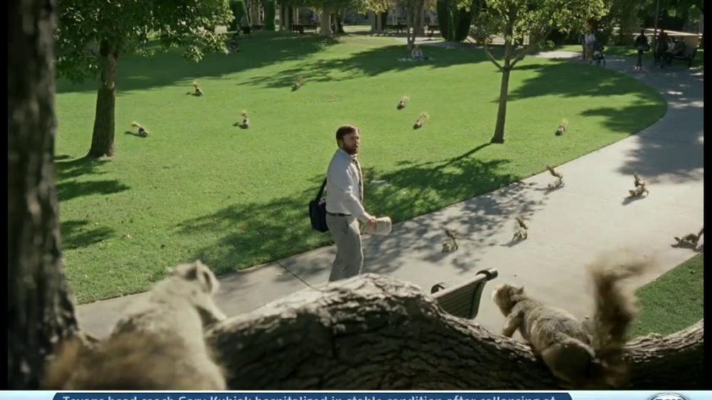 DirecTV TV Spot, 'Attack of the Squirrels' - Screenshot 3