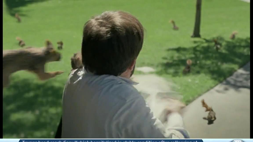 DirecTV TV Spot, 'Attack of the Squirrels' - Screenshot 5