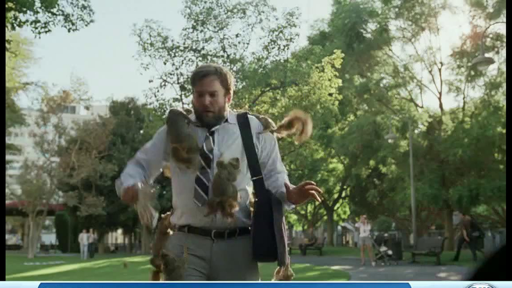 DirecTV TV Spot, 'Attack of the Squirrels' - Screenshot 8