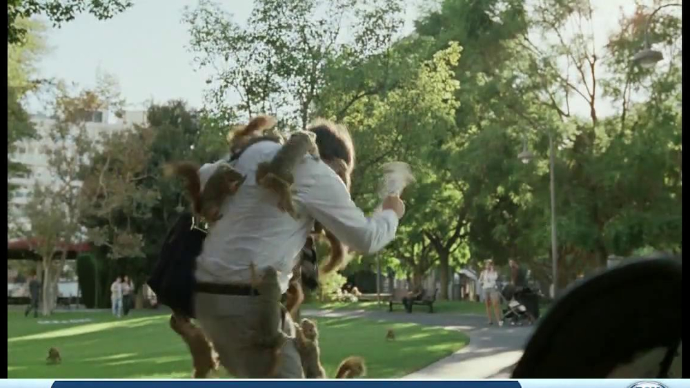 DirecTV TV Spot, 'Attack of the Squirrels' - Screenshot 9