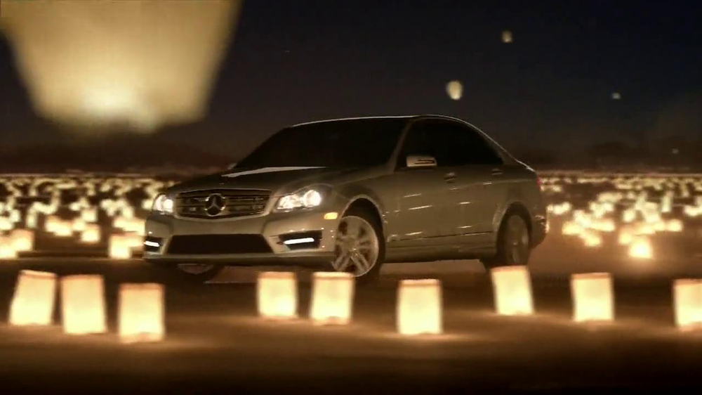 Mercedes benz winter event tv commercial 39 lanterns for Mercedes benz tv