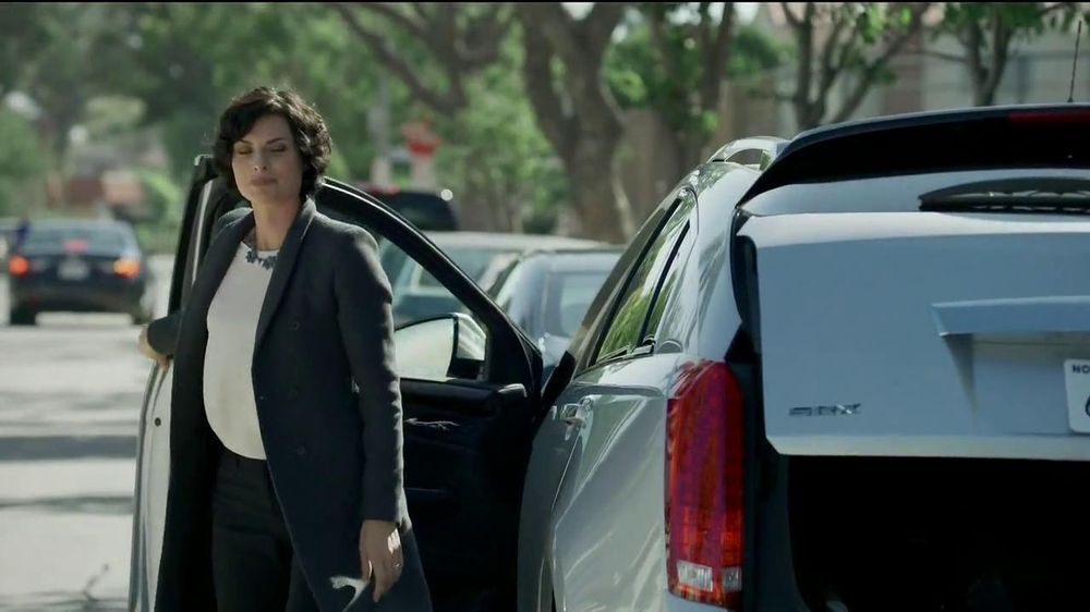 Cadillac Commercial 2014 Actress