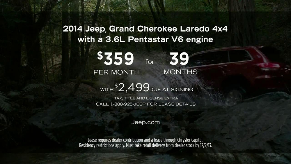 2014 Jeep Grand Cherokee TV Spot, 'Every Day' - Screenshot 10