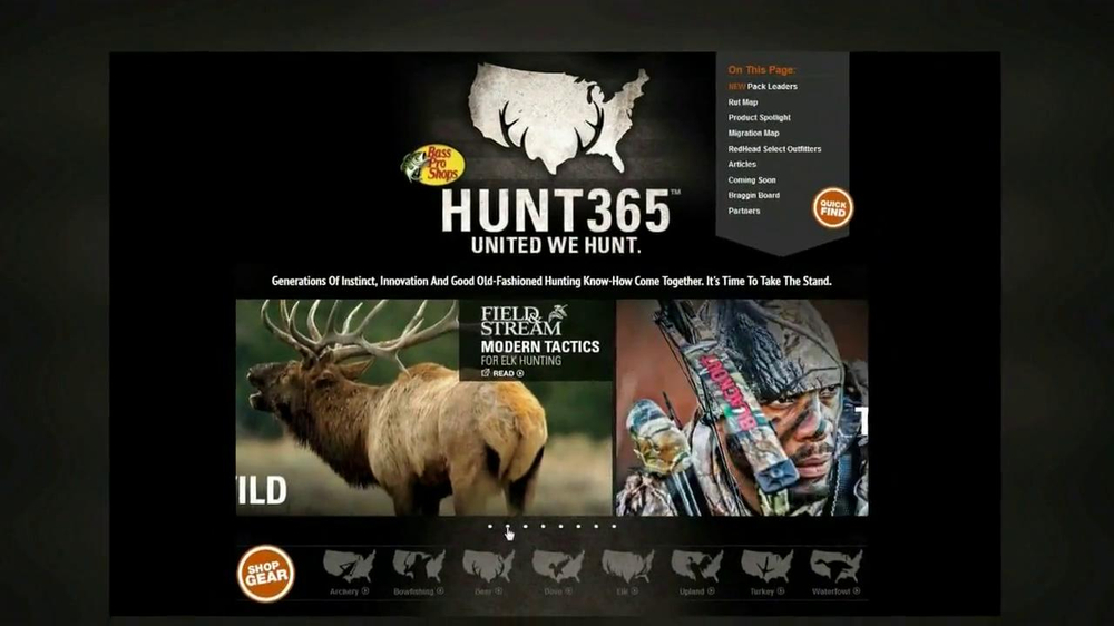 Bass Pro Shops TV Spot, 'Hunt 365' - Screenshot 4