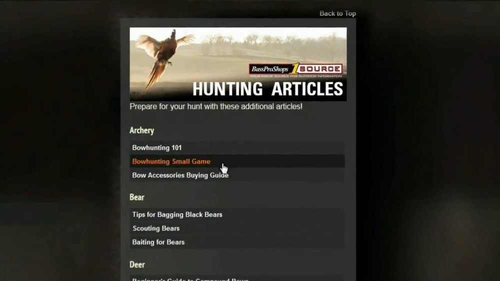 Bass Pro Shops TV Spot, 'Hunt 365' - Screenshot 8