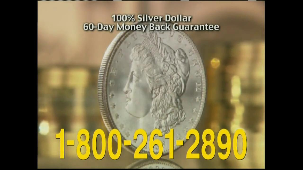 National Collector's Mint TV Spot, 'Morgan Silver Dollar' - Screenshot 10