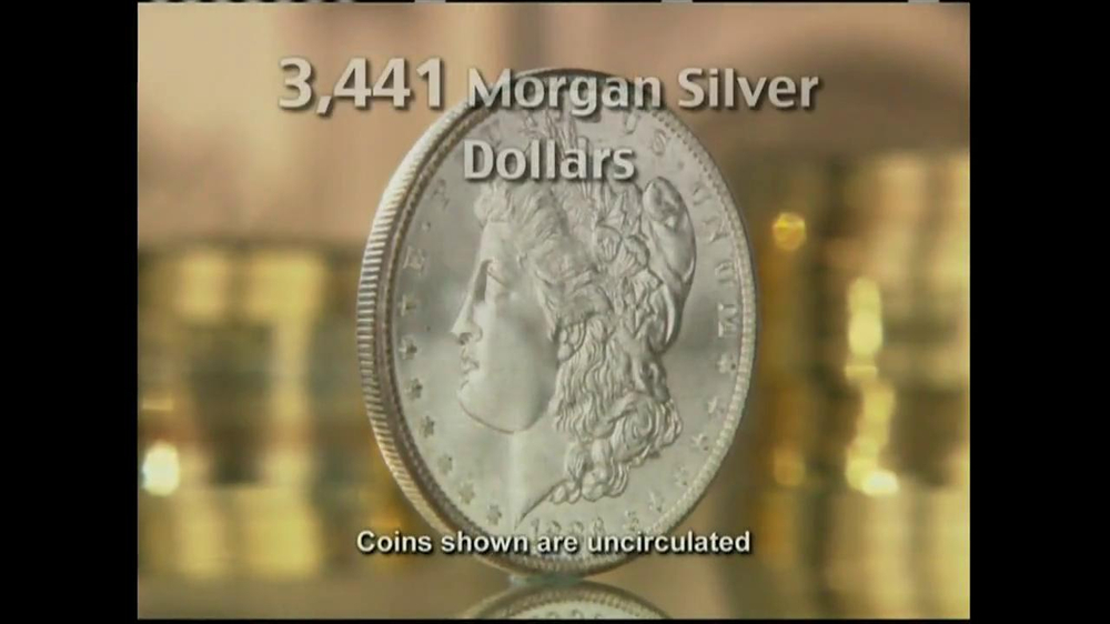 National Collector's Mint TV Spot, 'Morgan Silver Dollar' - Screenshot 2