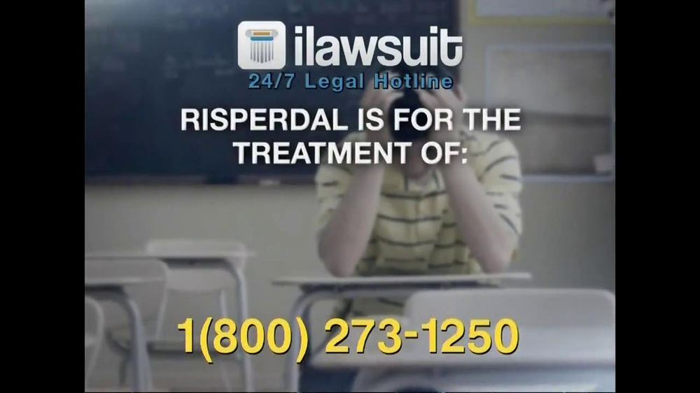 iLawsuit Legal Hotline TV Spot, 'Risperdal' - Screenshot 3