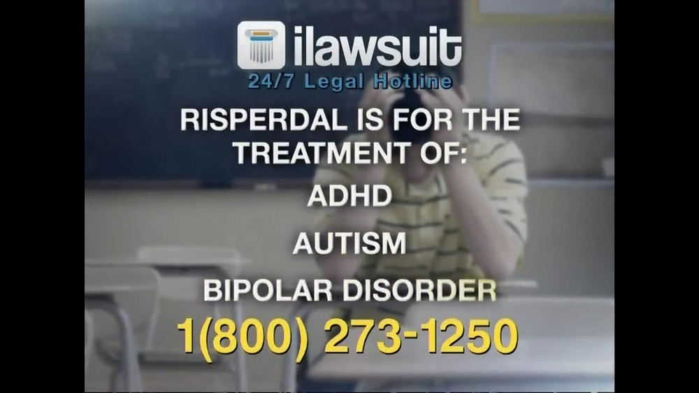 iLawsuit Legal Hotline TV Spot, 'Risperdal' - Screenshot 4