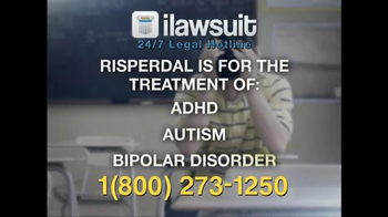iLawsuit Legal Hotline TV Spot, 'Risperdal' - Thumbnail 4