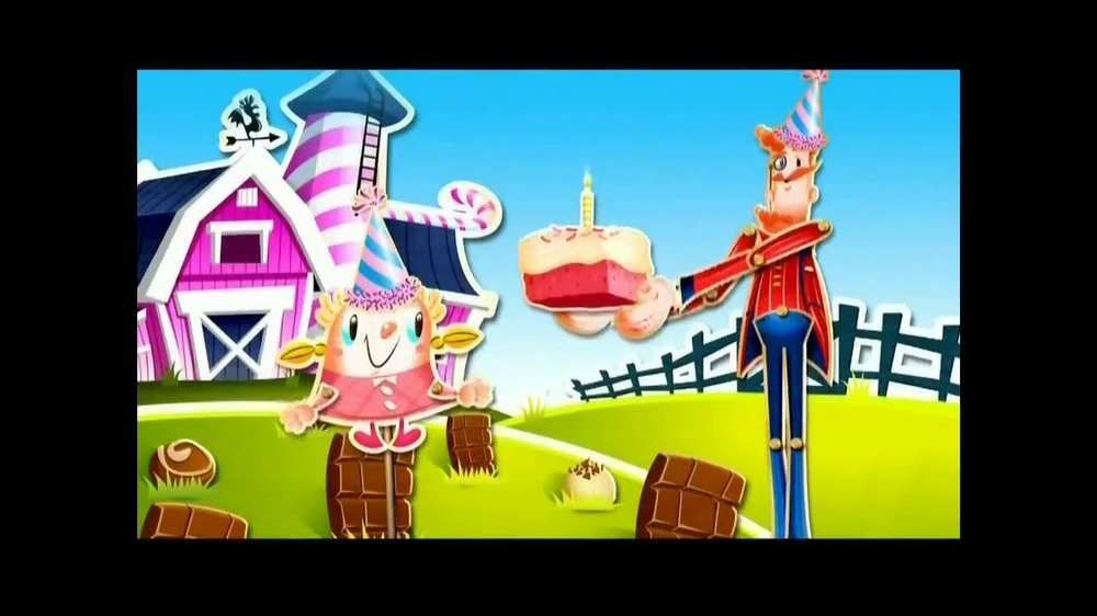 Candy Crush Saga TV Spot, 'Daily Boosters' - Screenshot 1