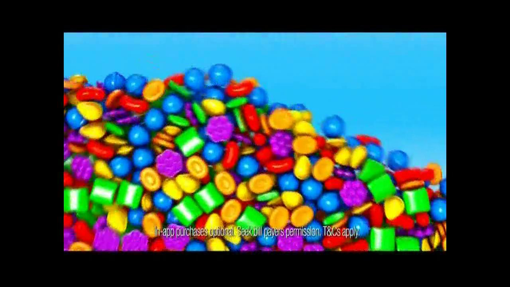 Candy Crush Saga TV Spot, 'Daily Boosters' - Screenshot 4