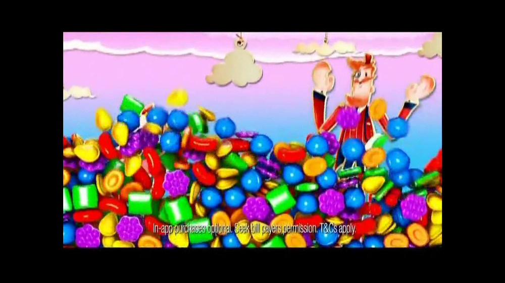 Candy Crush Saga TV Spot, 'Daily Boosters' - Screenshot 5