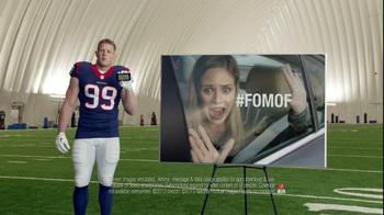 Verizon NFL Mobile TV Spot, '#FOMOF: Road Trip' Feat. JJ Watt - Thumbnail 8