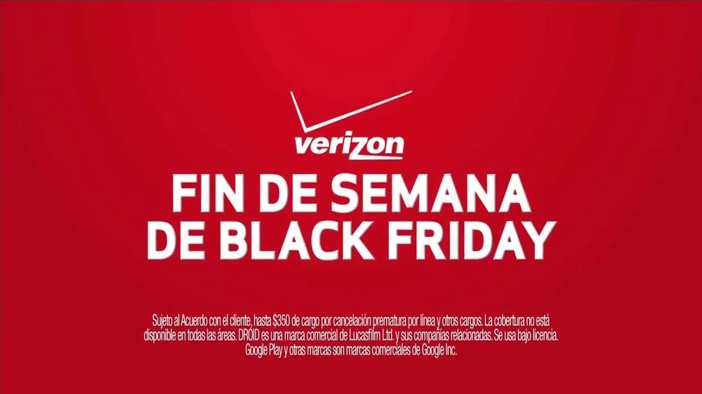 Verizon Black Friday Duendes Spanish