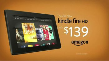 Amazon Kindle Fire HD TV Spot, Song by The New Division