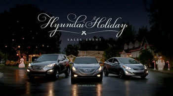 Hyundai Holidays Sales Event TV Spot