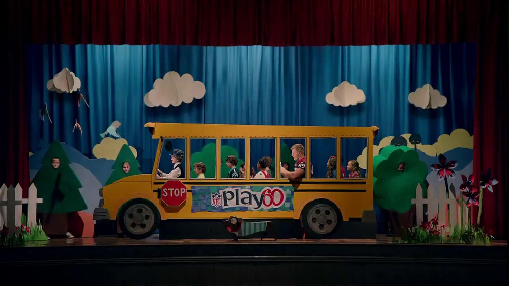 NFL Play 60 TV Spot, 'School Play' Featuring J.J. Watt - Screenshot 1