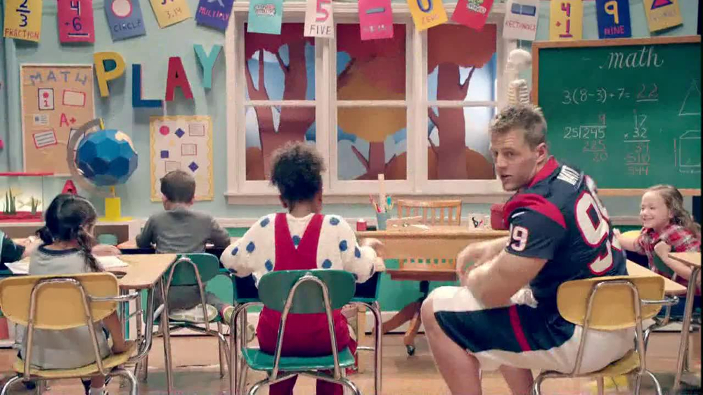 NFL Play 60 TV Spot, 'School Play' Featuring J.J. Watt - Screenshot 4
