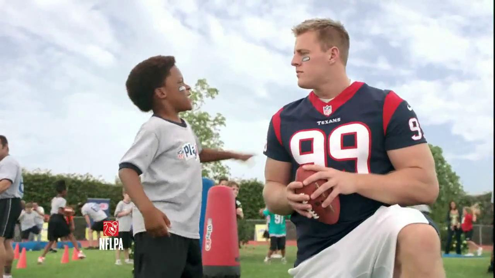 NFL Play 60 TV Spot, 'School Play' Featuring J.J. Watt - Screenshot 8