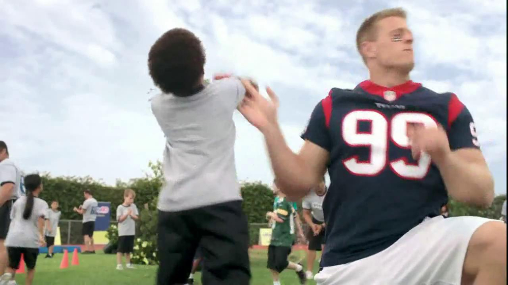 NFL Play 60 TV Spot, 'School Play' Featuring J.J. Watt - Screenshot 9