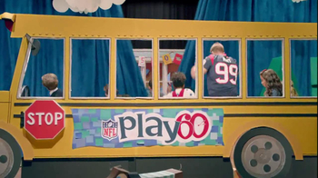 NFL Play 60 TV Spot, 'School Play' Featuring J.J. Watt - Thumbnail 3