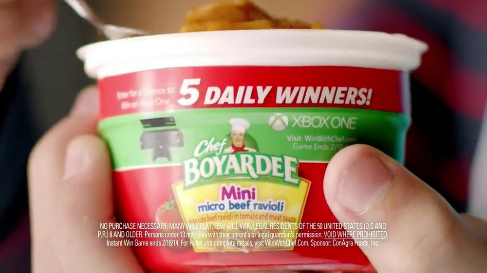 Chef Boyardee TV Spot, 'Win with Chef' - Screenshot 10