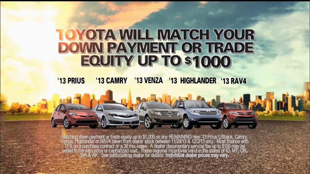 Toyota Camry Commercial Song >> Toyota TV Commercial, Black Friday Sales Event - iSpot.tv