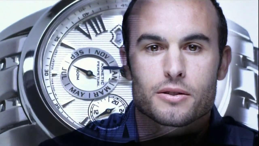 Seiko Solar TV Spot, 'Progress' Feat. Hope Solo, Landon Donovan - Screenshot 10