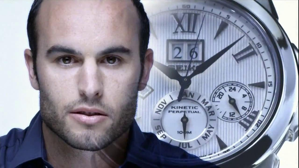 Seiko Solar TV Spot, 'Progress' Feat. Hope Solo, Landon Donovan - Screenshot 2