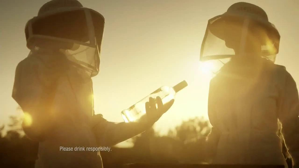 Smirnoff Wild Honey Vodka TV Spot - Screenshot 3