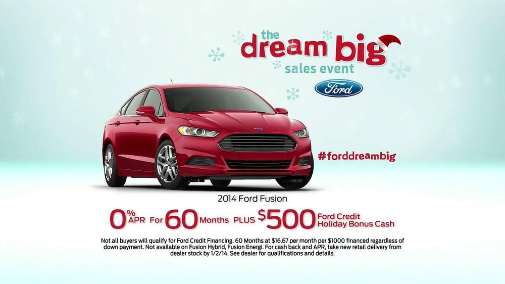Ford Dream Big Sales Event TV Spot, 'Santa' - Screenshot 10