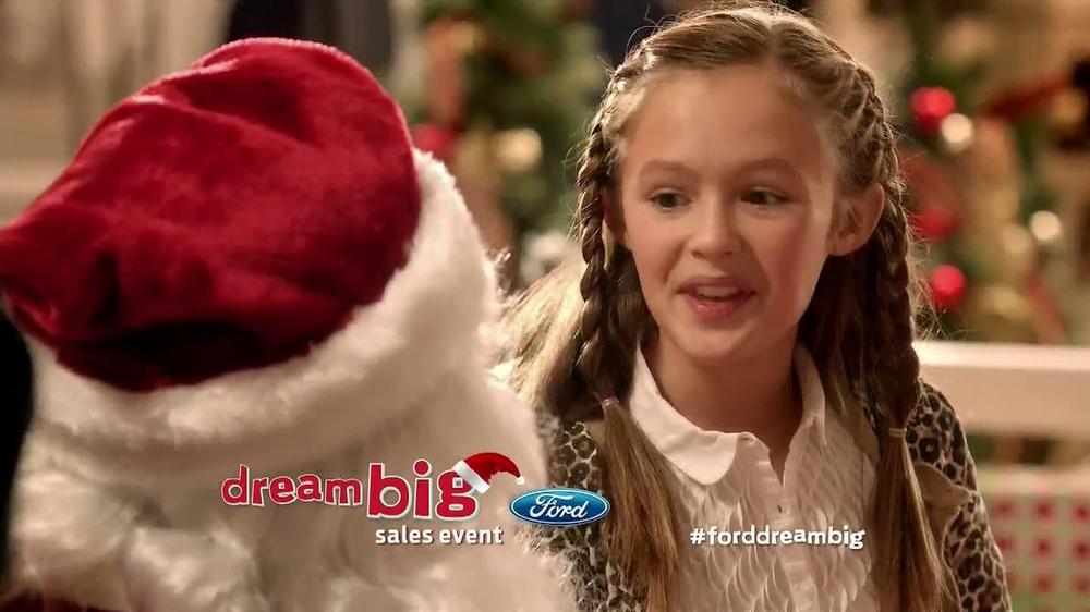 Ford Dream Big Sales Event TV Spot, 'Santa' - Screenshot 2