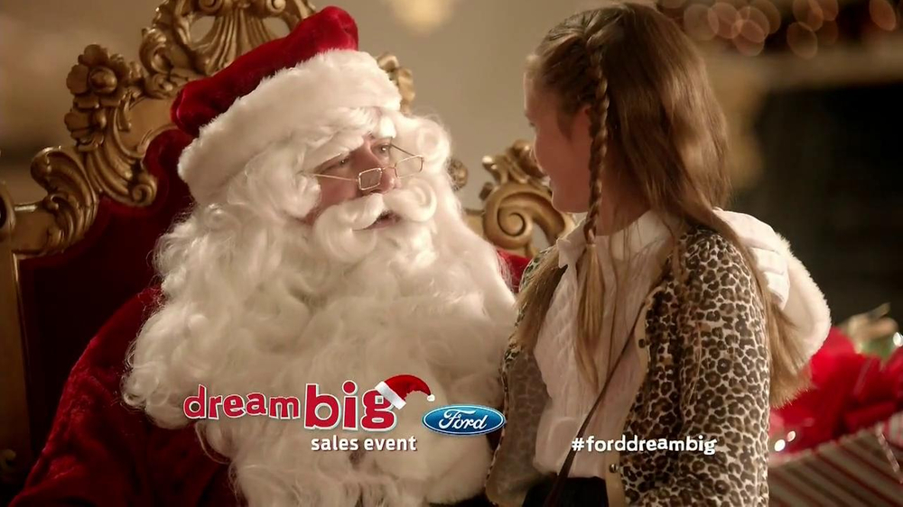 Ford Dream Big Sales Event TV Spot, 'Santa' - Screenshot 3