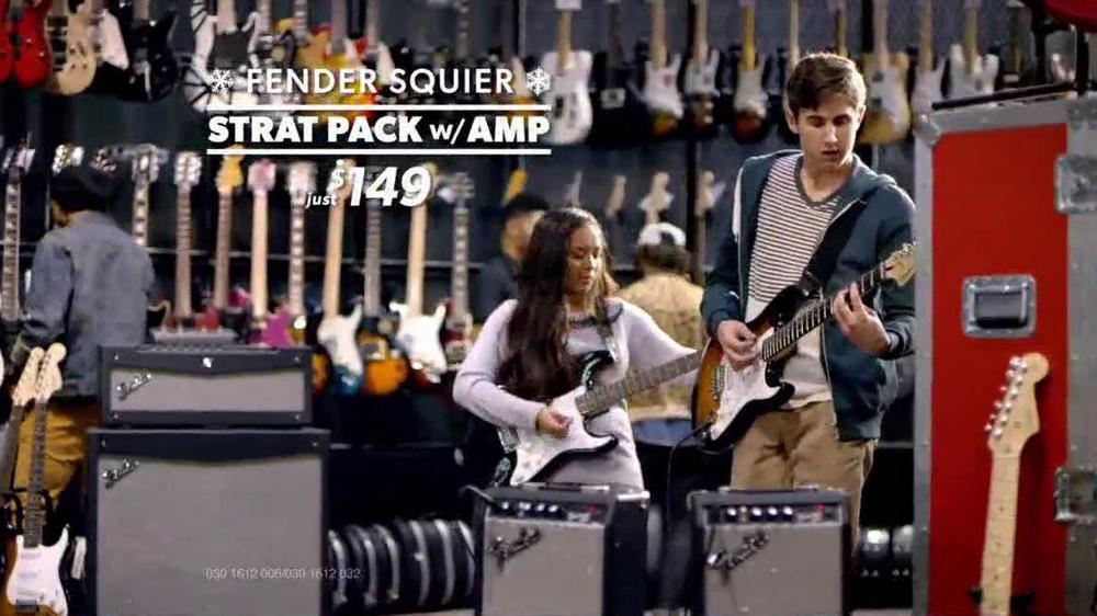 guitar center holiday sale tv commercial 39 air guitar. Black Bedroom Furniture Sets. Home Design Ideas