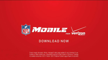 Verizon NFL Mobile TV Spot, '#FOMOF: Santa Claus' - Thumbnail 10